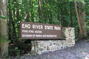 Backpacking at Eno River State Park