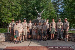 Summer Camp at Durant – July 2018